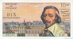 10 Nouveaux Francs RICHELIEU FRANCE  1959 F.57.04 SPL