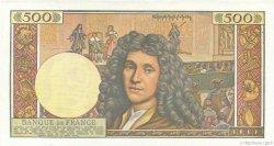 500 nouveaux francs Molière FRANCE  1959 F.60.01 SUP à SPL