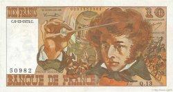 10 Francs BERLIOZ FRANCE  1973 F.63.02 pr.SUP