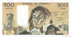500 Francs PASCAL FRANCE  1989 F.71.42 NEUF