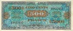 500 Francs DRAPEAU FRANCE  1944 VF.21.01 SUP+