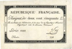 250 Livres FRANCE  1793 Ass.45a SUP