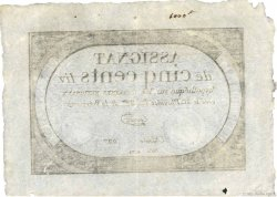 500 Livres FRANCE  1794 Ass.47a SUP