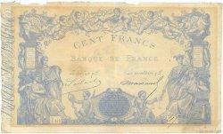 100 Francs type 1862 Indices Bleus FRANCE  1865 F.A34.03 pr.TTB