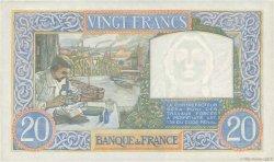 20 Francs SCIENCE ET TRAVAIL FRANCE  1941 F.12.17 SUP