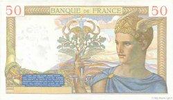50 Francs CÉRÈS modifié FRANCE  1939 F.18.23 SUP+