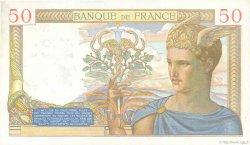 50 Francs CÉRÈS modifié FRANCE  1939 F.18.31 SPL
