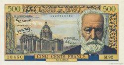 500 Francs VICTOR HUGO FRANCE  1958 F.35.08 NEUF