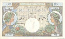 1000 Francs COMMERCE ET INDUSTRIE FRANCE  1941 F.39.04 TTB à SUP