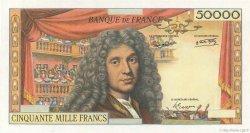 50000 Francs MOLIÈRE FRANKREICH  1959 F.-
