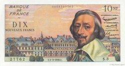 10 Nouveaux Francs RICHELIEU FRANCE  1959 F.57.01 NEUF