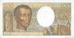 200 Francs MONTESQUIEU FRANCE  1981 F.70.00 SUP
