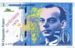 50 Francs SAINT-EXUPÉRY FRANCE  1993 F.72.00 pr.NEUF