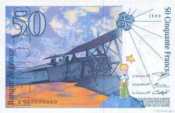 50 Francs SAINT-EXUPÉRY FRANCE  1993 F.72.00s2 pr.NEUF