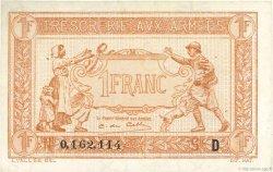 1 Franc TRÉSORERIE AUX ARMÉES FRANCE  1917 VF.03.04 SUP+
