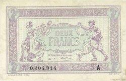2 Francs TRÉSORERIE AUX ARMÉES FRANCE  1919 VF.05.04 SPL