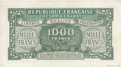 1000 Francs MARIANNE FRANCE  1945 VF.13.01 SUP+
