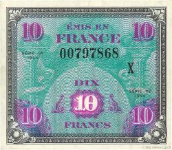 10 Francs DRAPEAU FRANCE  1944 VF.18.03