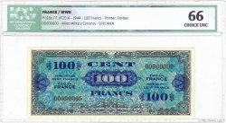 100 Francs DRAPEAU FRANCE  1944 VF.20.04 NEUF