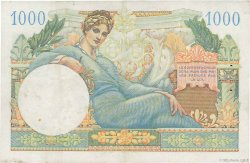 1000 Francs TRÉSOR FRANÇAIS FRANCE  1947 VF.33.01 TTB+