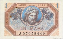1 Mark SARRE FRANCE  1947 VF.44.01 TTB+