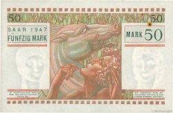 50 Mark SARRE FRANCE  1947 VF.48.01 pr.SUP