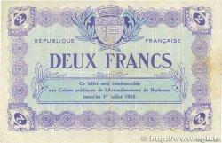 2 Francs FRANCE régionalisme et divers Narbonne 1921 JP.089.25 TTB