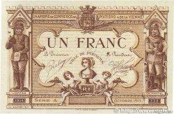 1 Franc FRANCE régionalisme et divers POITIERS 1915 JP.101.04 pr.SPL