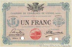 1 Franc FRANCE régionalisme et divers VIENNE 1915 JP.128.07 SUP+
