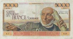 5000 Francs Schoelcher type 1946 AFRIQUE ÉQUATORIALE FRANÇAISE  1946 P.27 TTB+