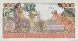 5000 Francs Schoelcher AFRIQUE ÉQUATORIALE FRANÇAISE  1946 P.27s SPL