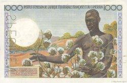 1000 Francs AFRIQUE ÉQUATORIALE FRANÇAISE  1957 P.34s SPL