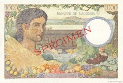 1000 Francs ALGÉRIE  1942 P.089s pr.NEUF