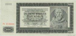 1000 Korun BOHÊME ET MORAVIE  1942 P.14a pr.NEUF
