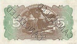 5 Leva BULGARIE  1922 P.034s2 SPL