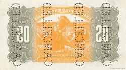 20 Leva BULGARIE  1922 P.036s2 SPL