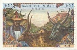 500 Francs CAMEROUN  1962 P.11s pr.NEUF