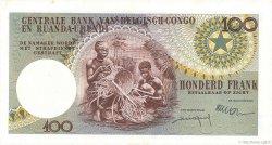 100 Francs CONGO BELGE  1960 P.33c SPL