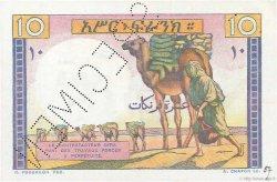 10 Francs DJIBOUTI  1946 P.19s SPL