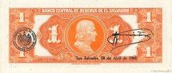 1 Colon SALVADOR  1964 P.105a pr.NEUF