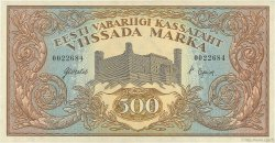 500 Marka ESTONIE  1923 P.52a SPL