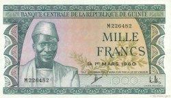 1000 Francs GUINÉE  1960 P.15a pr.NEUF