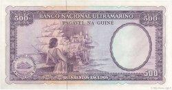 500 Escudos GUINÉE PORTUGAISE  1971 P.046 NEUF