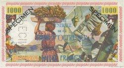 1000 Francs Pêcheur GUYANE  1955 P.27s SPL+