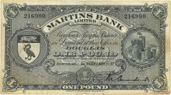 1 Pound ÎLE DE MAN  1957 P.19b TB+