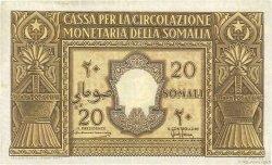 20 Somali ITALIE  1950 P.14a TTB+