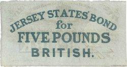 5 Pounds JERSEY  1841 P.A01 SUP
