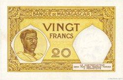 20 Francs MADAGASCAR  1937 P.37 pr.NEUF