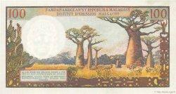 100 Francs / 20 Ariary MADAGASCAR  1966 P.57a pr.NEUF