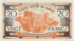 20 Francs type 1943 MAROC  1943 P.39 pr.NEUF